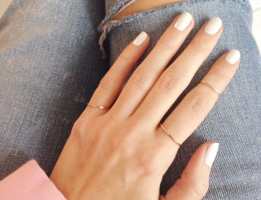 vernis à ongles blanc tendance maybelline