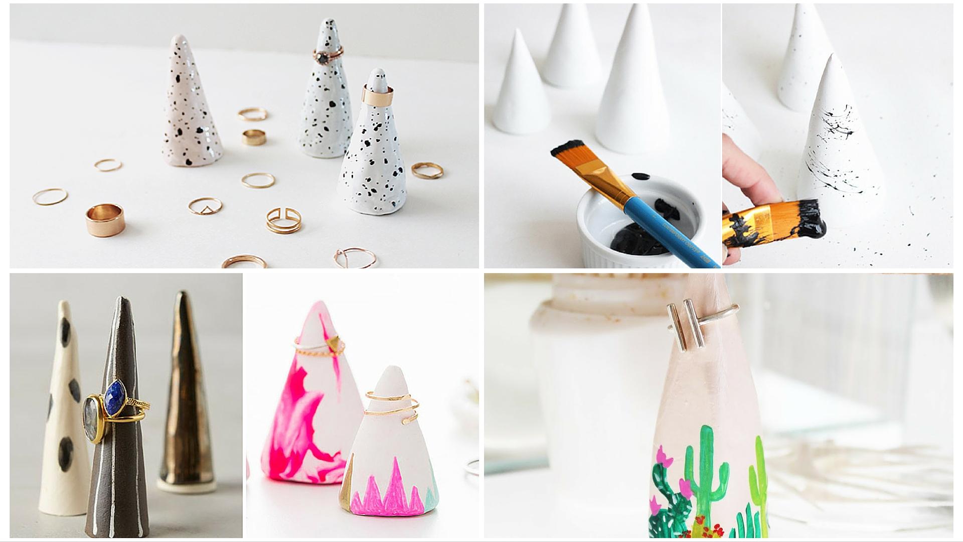 Le DIY Rings Cones de Rose Sucre Sur ChestnutsandPeonies