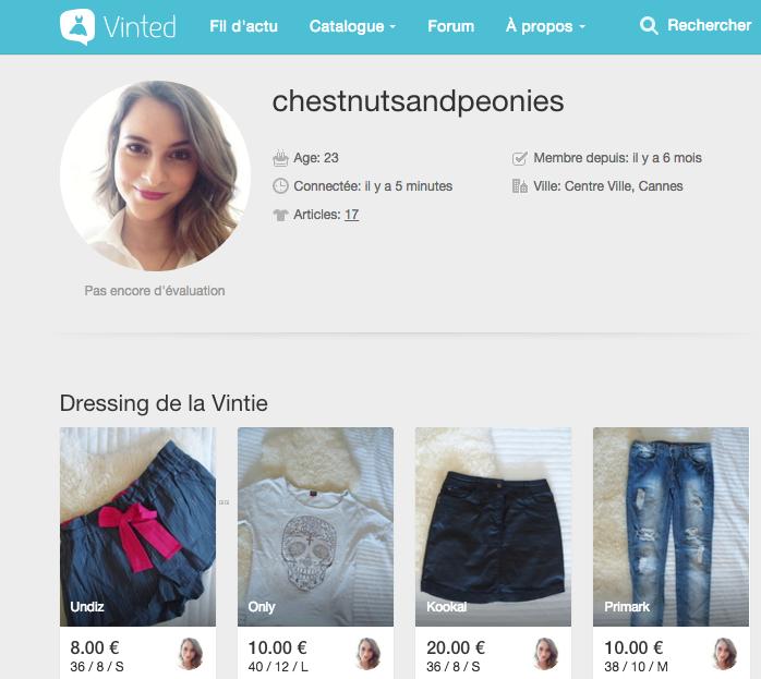 Vide Dressing ChestnutsandPeonies sur Vinted