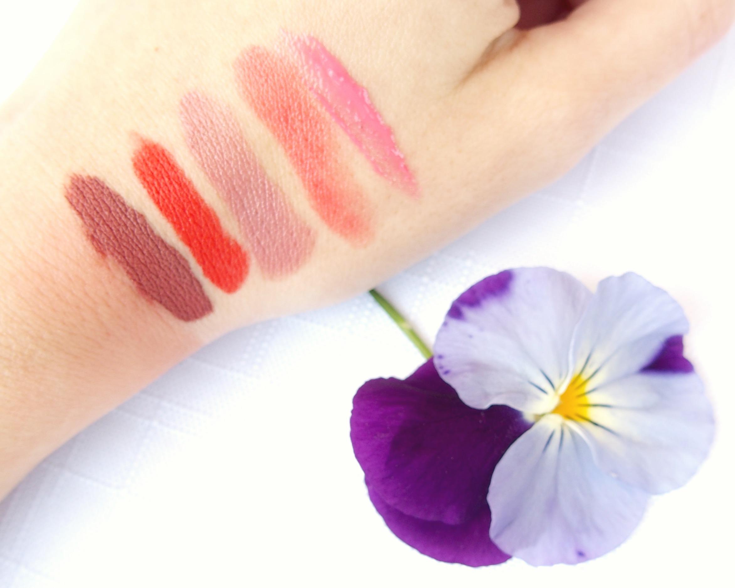 Rouges à lèvres - ChestnutsandPeonies
