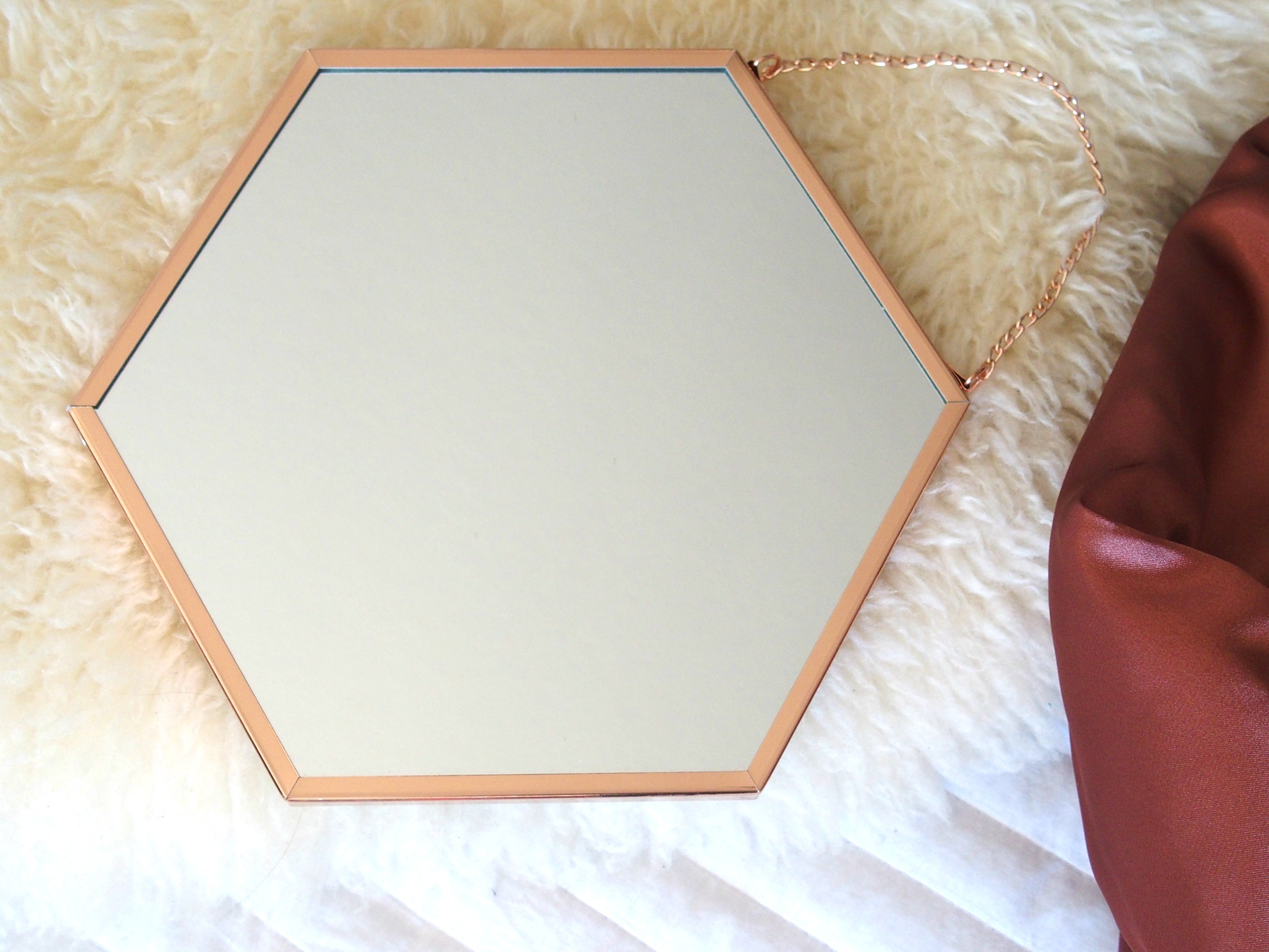 Rose Gold miroir eurodif