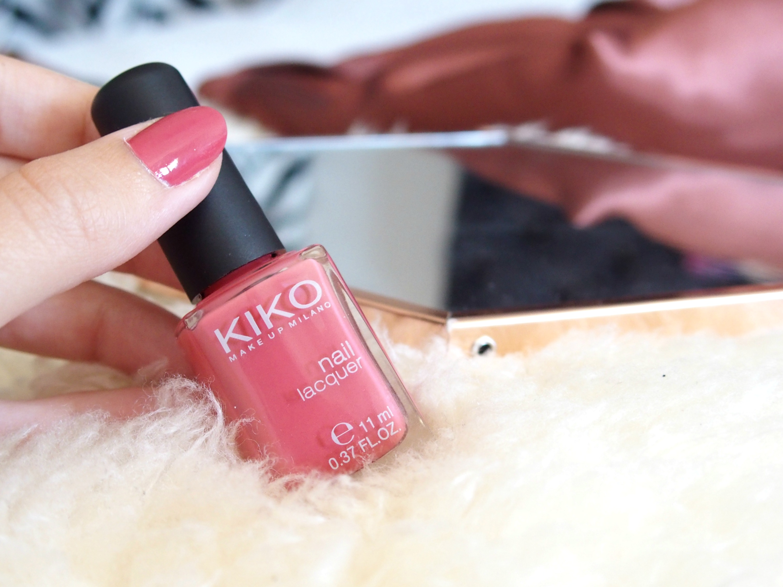 Rose Gold vernis kiko