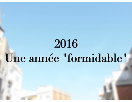 2016 annee formidable