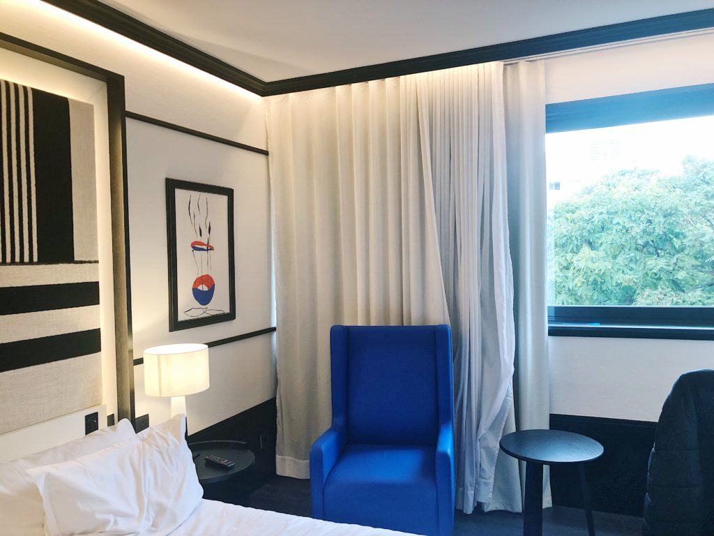 hotel h10 marina barcelona chambre d'hotel