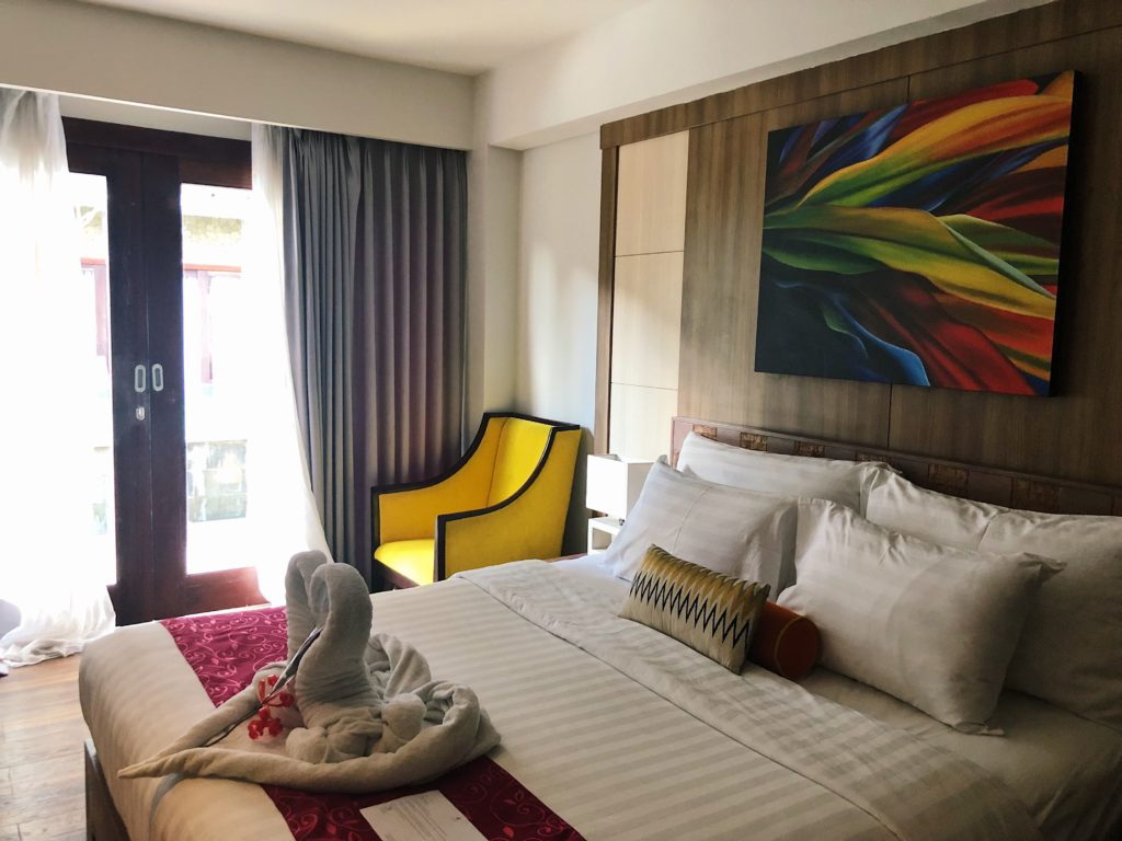 kirana canggu hotel chambre