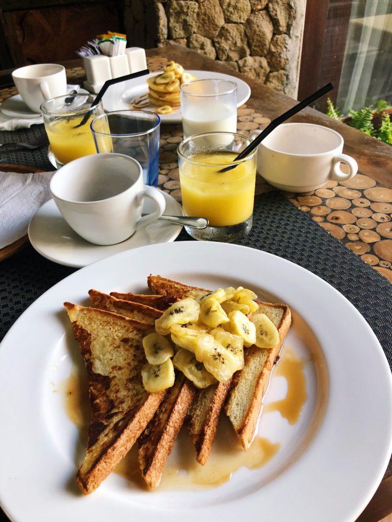 kirana canggu hotel petit dejeuner