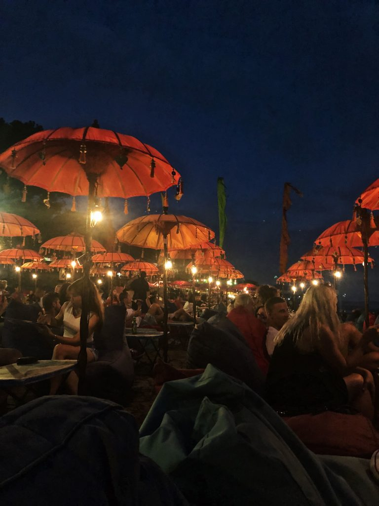 la plancha bali parasol