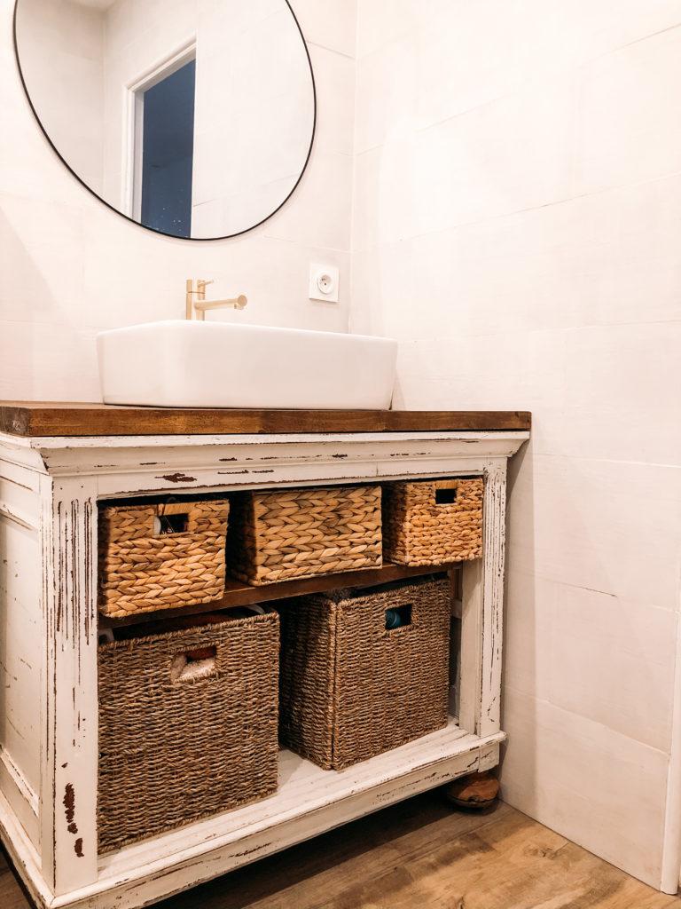 meuble salle de bain objets nomades