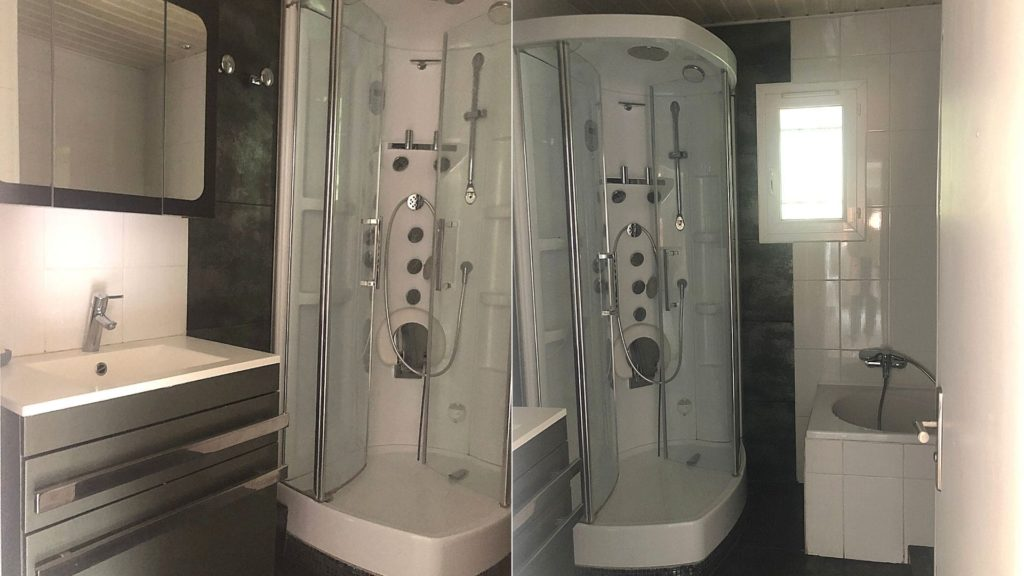 ancienne salle de bain avant rénovation