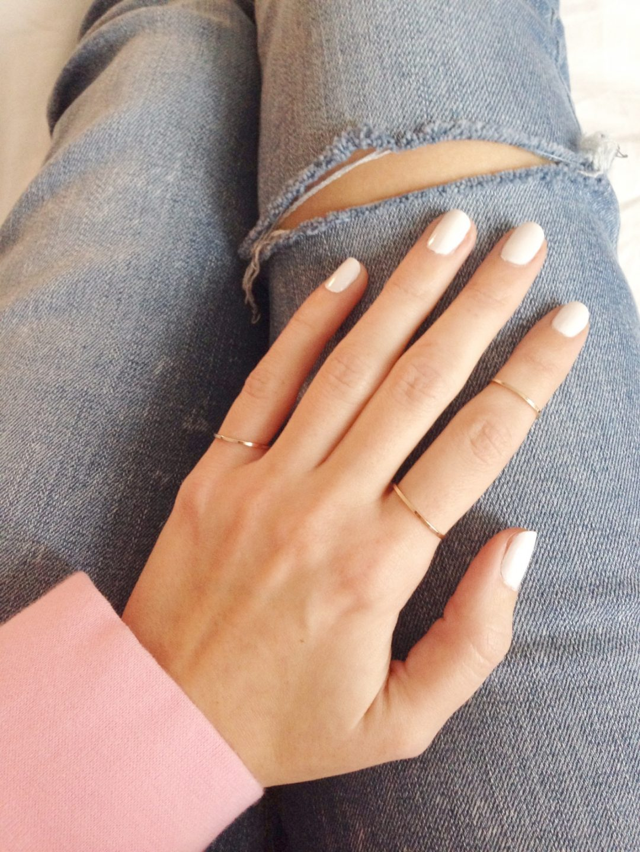 vernis à ongles blanc tendance maybelline
