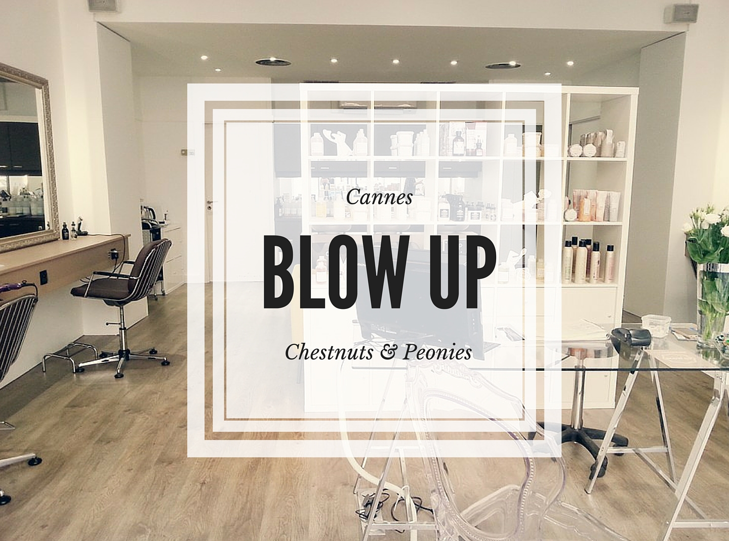 Salon de coiffure Blow Up Cannes
