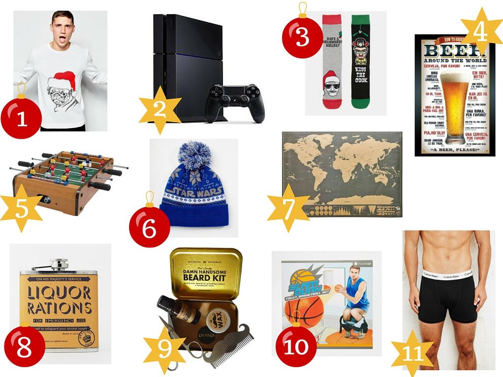 Mon top 10 de cadeaux pour les garçons !