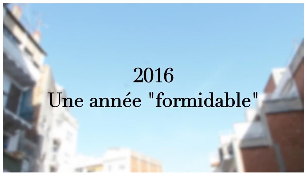 2016 annee formidable